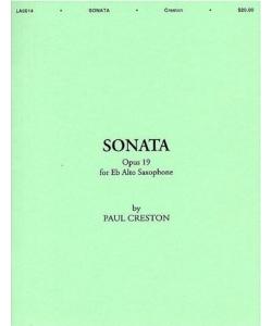 SONATA Op.19 for Alto...