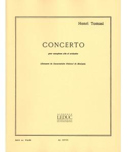 CONCERTO for alto saxophone...